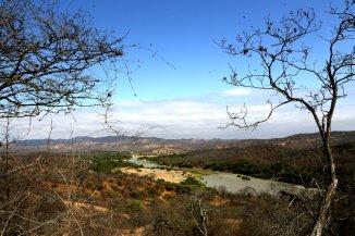 Vista panorámica del Cañón del Río Tumbes